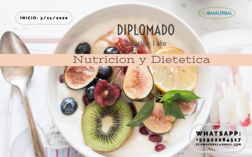 Diplomado Virtual: Nutrición y dietética