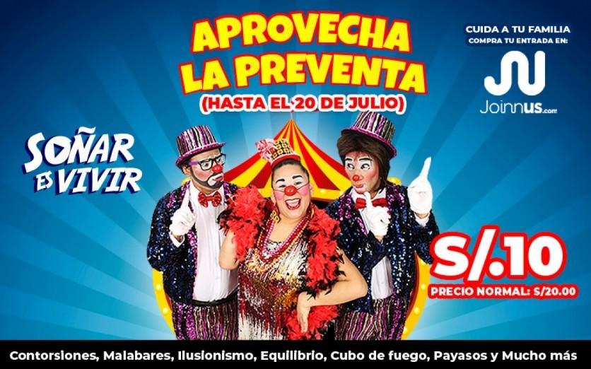 Circo Virtual de la Tía Doña flor