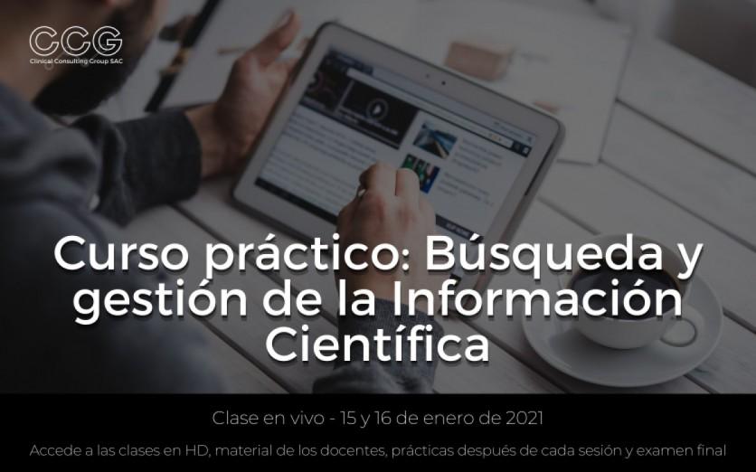 Búsqueda y gestión de la Información Científica