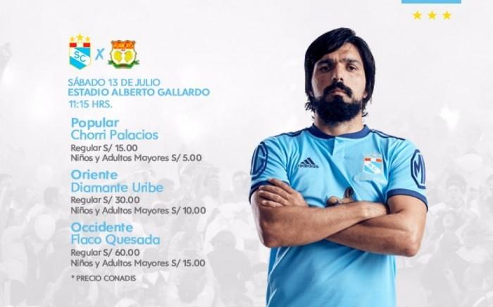 Club Sporting Cristal vs. Sport Huancayo