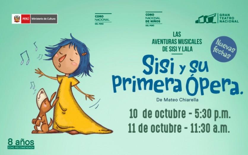 Sisi y su primera ópera - Gran Teatro Nacional