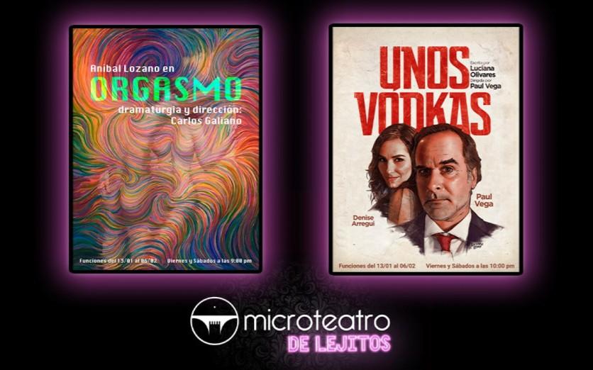 Microteatro presenta: Orgasmo - Unos Vodkas