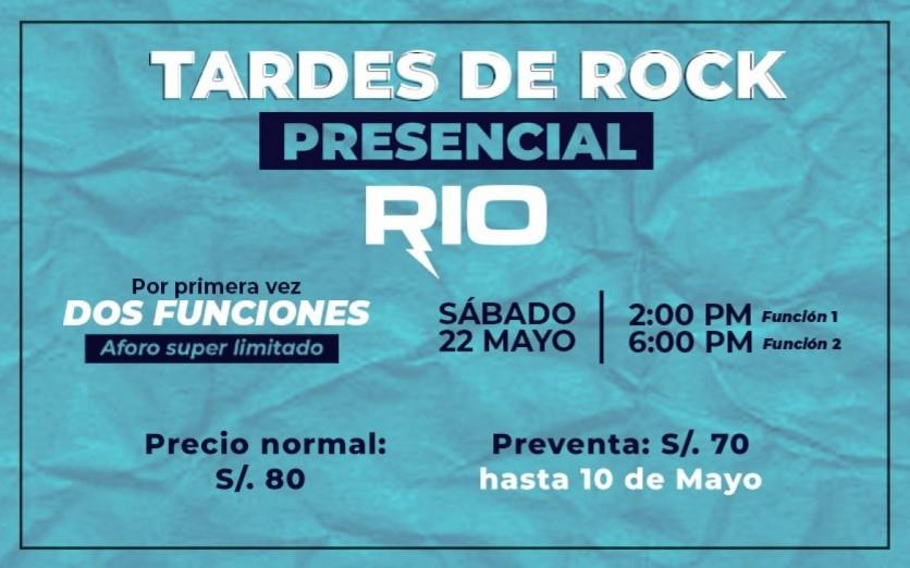 Tardes de Rock - Río en vivo