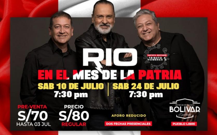 RIO, EN EL MES DE LA PATRIA