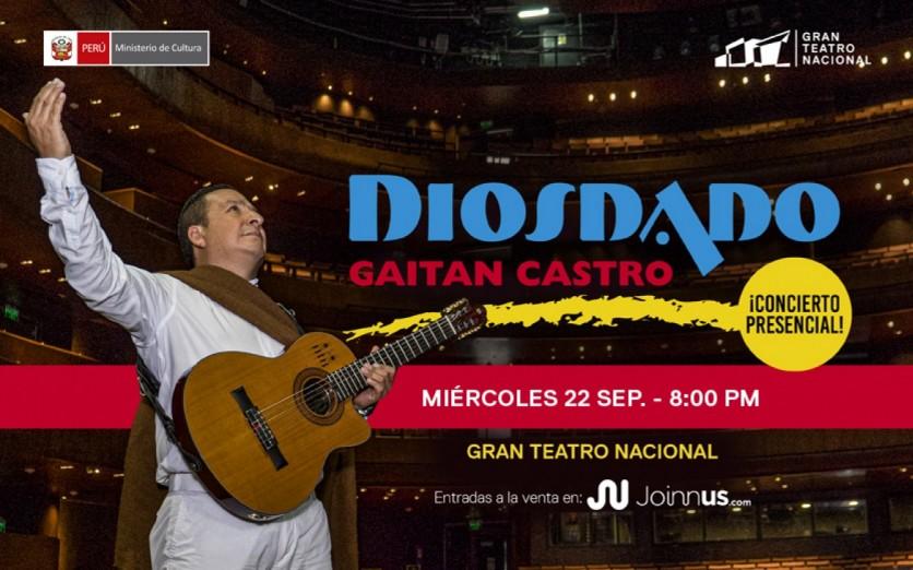 Diosdado Gaitán Castro - Concierto presencial