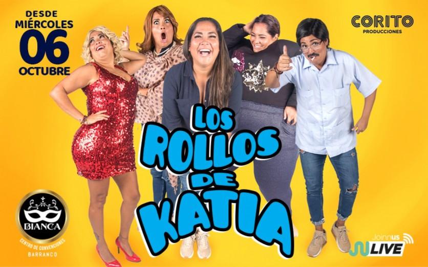 """""""Los Rollos de Katia"""" función presencial - Barranco"""