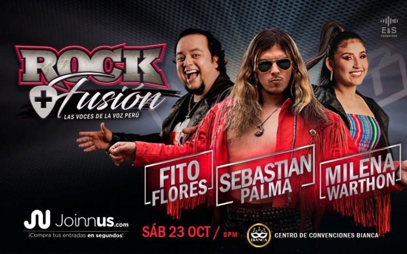 ROCK + FUSION - Las Voces de La Voz Perú