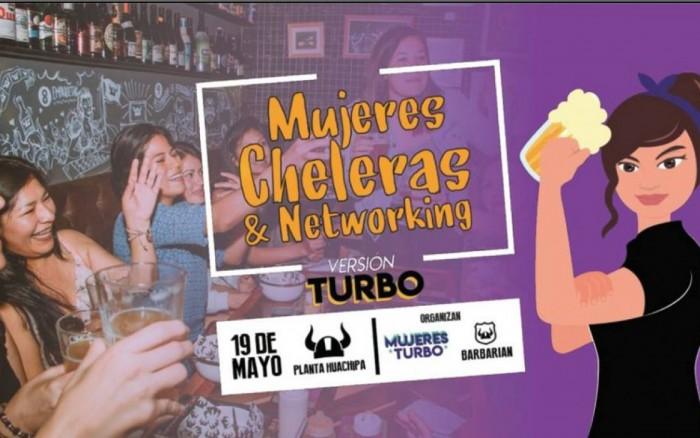 Mujeres Cheleras y Networking: Versión turbo /  / Joinnus