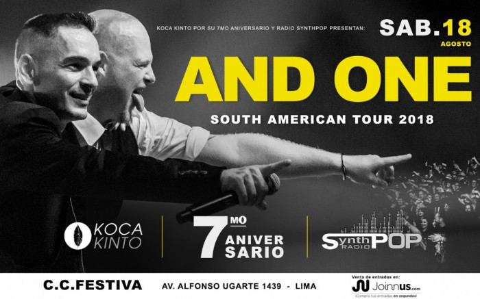 And One en Lima /  / Joinnus