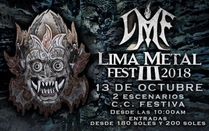 Lima Metal Fest 3 - 2018 /  / Joinnus