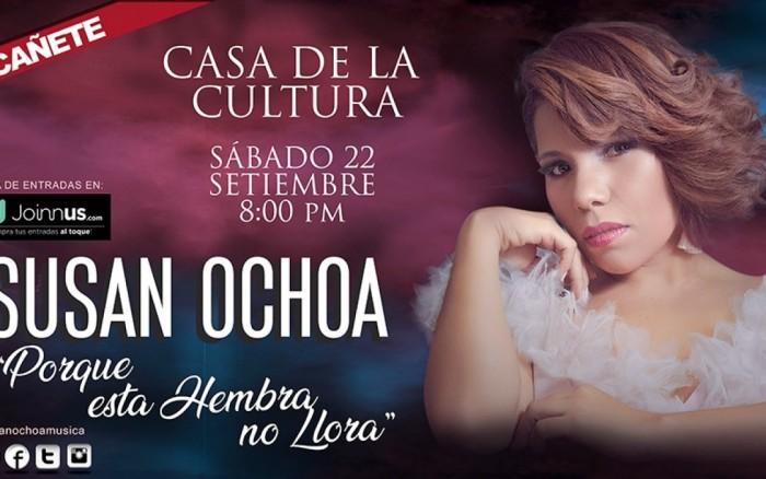 """Susan Ochoa """"Por que esta hembra no llora""""  Cañete"""