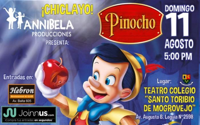 PINOCHO, Mágica Aventura Musical - Chiclayo
