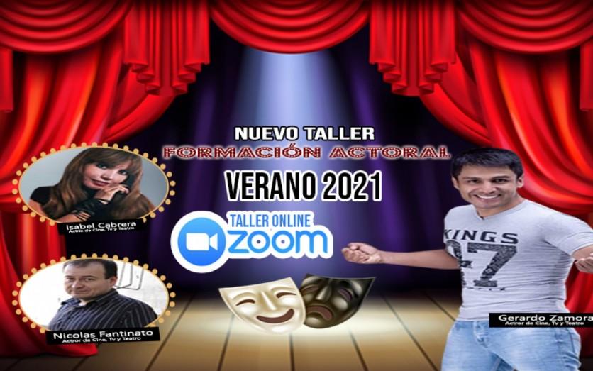 Taller Virtual de Formación Actoral Verano 2021