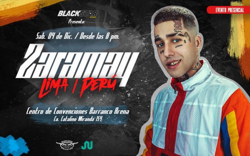 Zaramay en Lima - show presencial