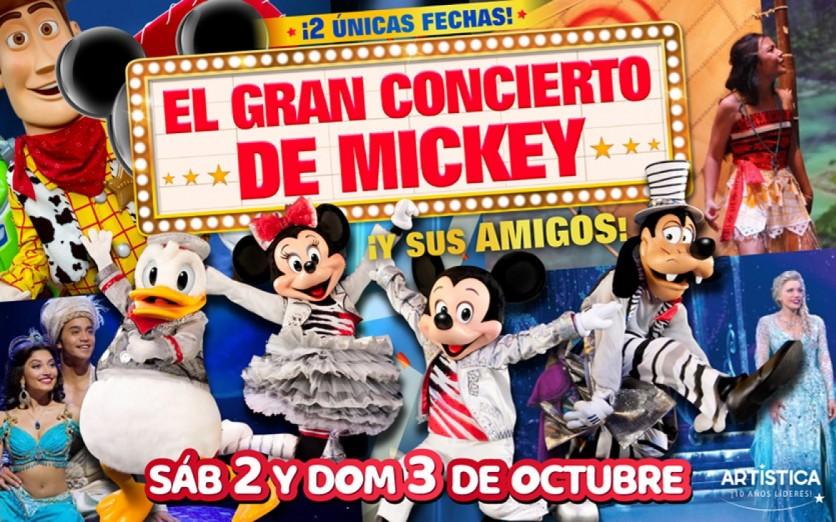¡EL GRAN CONCIERTO DE MICKEY!