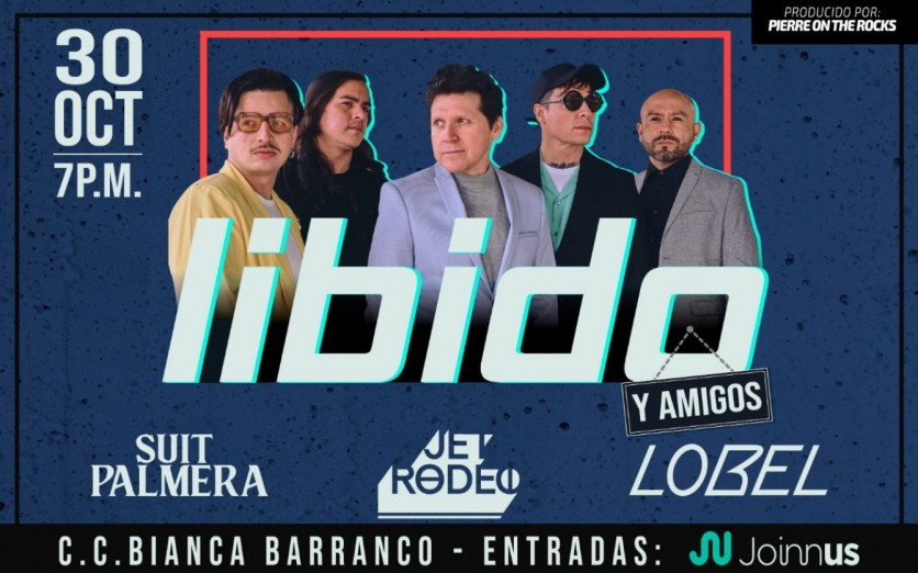 LIbido en concierto -  Barranco