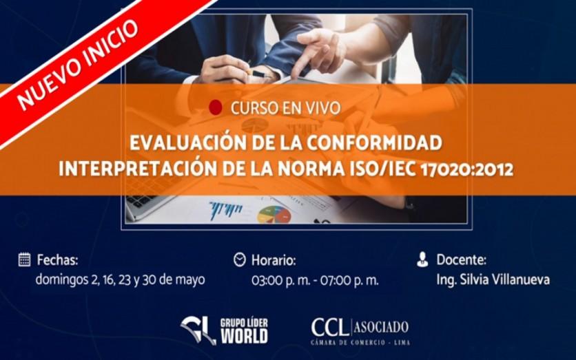 Curso:  Evaluación de la Conformidad Norma ISO/IEC 17020