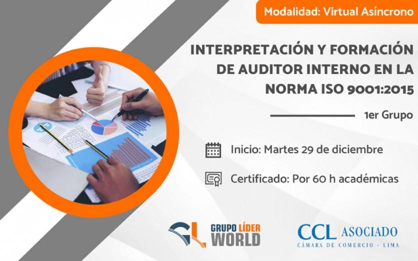 Curso: Interpretación y Formación de Auditor Interno