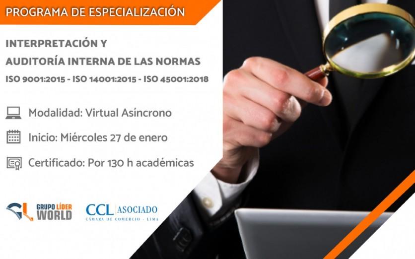 Programa de Especialización: Interpretación y Auditoría