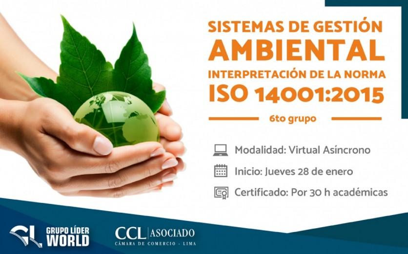 Curso: Sistemas de Gestión Ambiental - Norma ISO 14001:2015