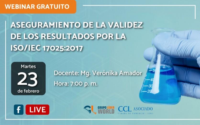 Webinar Gratuito: Aseguramiento de la Validez ISO/IEC 17025