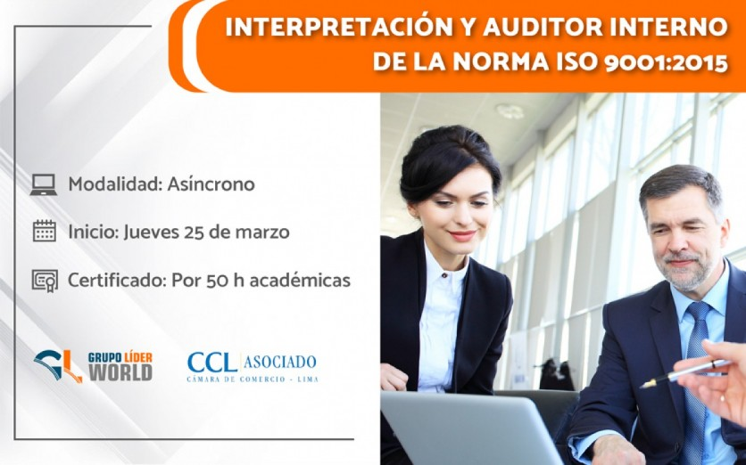 Curso: Interpretación y Auditor Interno - ISO 9001:2015