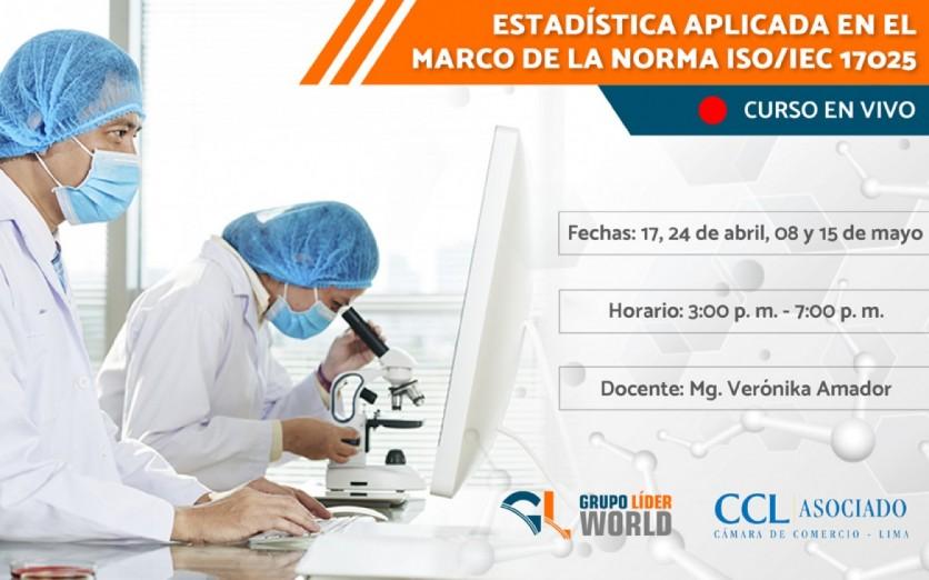 Curso: Estadística en el marco de la Norma ISO/IEC 17025