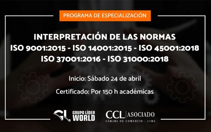 Programa de Especialización: Interpretación de las Normas