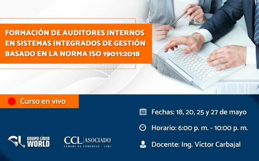 Curso: Formación de Auditores Internos ISO 19011:2018
