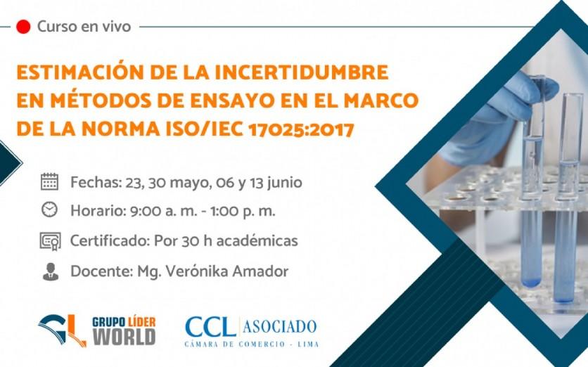 Curso:  Estimación de la Incertidumbre ISO/IEC 17025:2017