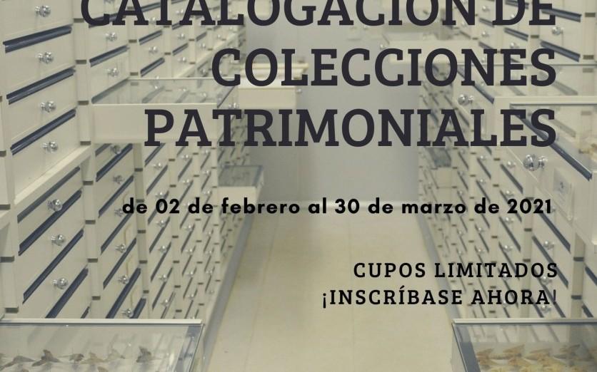 Registro y Catalogación de Colecciones Patrimoniales