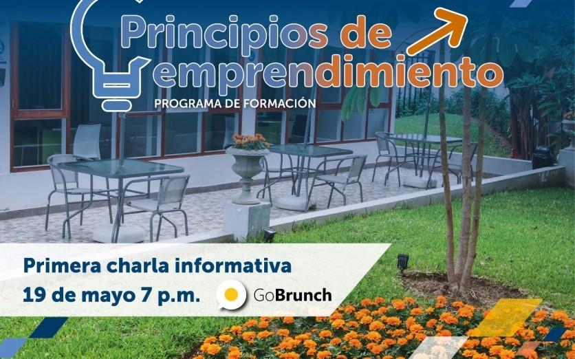 CURSO DE PRINCIPIOS DE EMPRENDIMIENTO - Charla Informativa