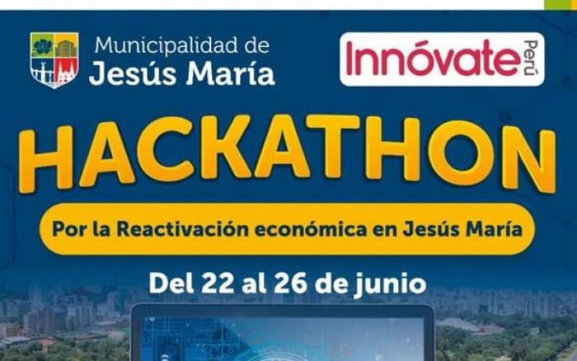 Lanzamiento HACKATHON: ¡Reactiva Jesús María!