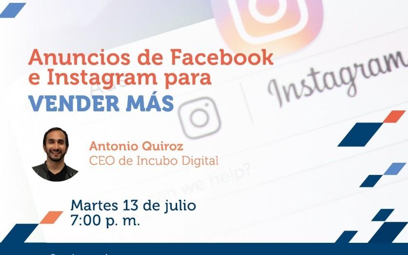 ANUNCIOS DE FBK E IG PARA VENDER MAS