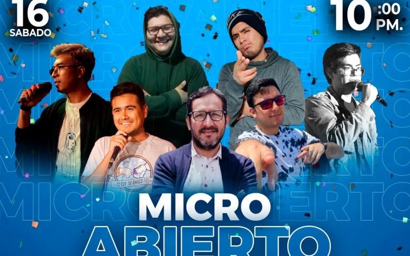 MICRO ABIERTO - ENTRADA LIBRE