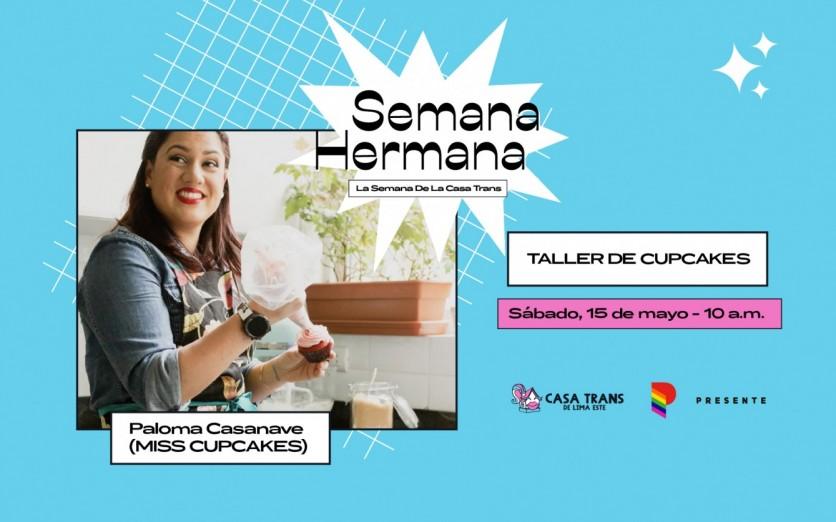 CUPCAKES con PALOMA CASANAVE (MISS CUPCAKES)