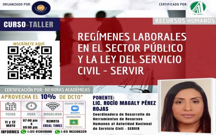 Regímenes Laborales en el Sector Público y la LEY SERVIR
