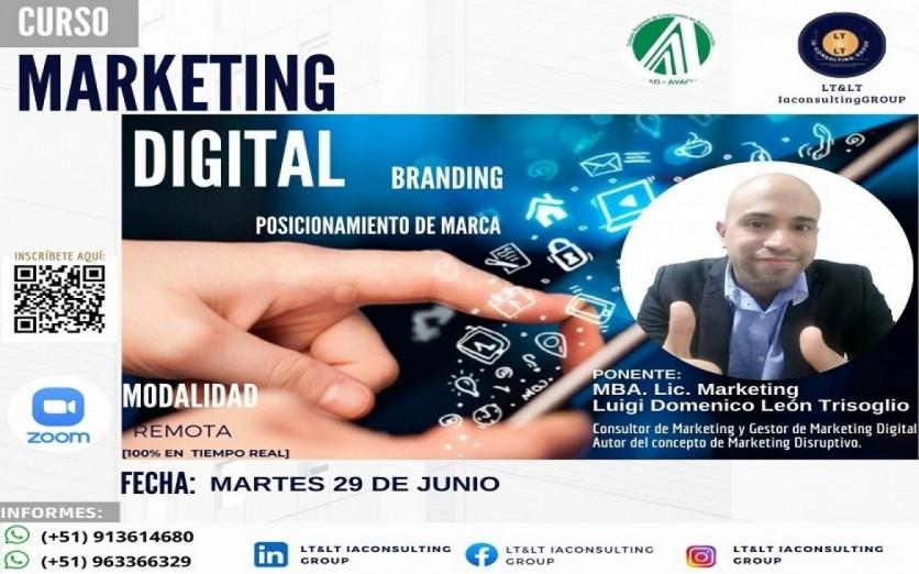 MARKETING DIGITAL, BRANDING Y POSICIONAMIENTO DE MARCA