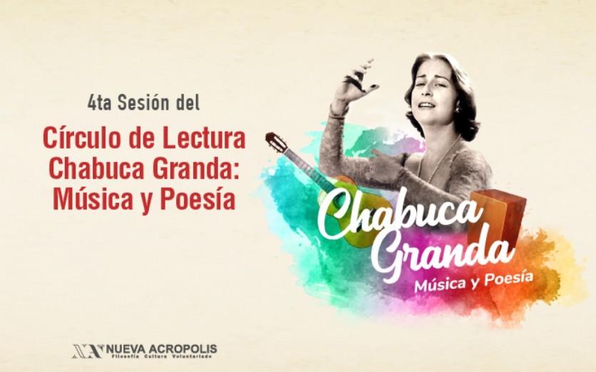 Ciclo de Lectura Chabuca Granda: Música y Poesía