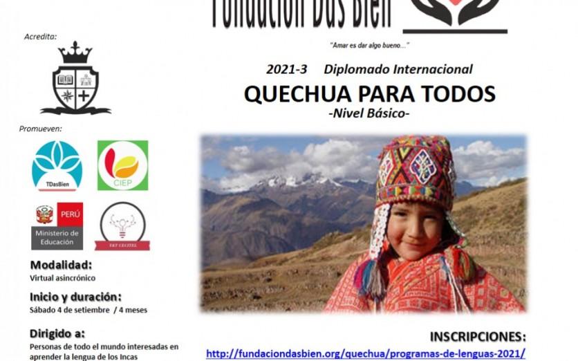 QUECHUA PARA TODOS- N. BASICO (diplomado virtual gratuito)