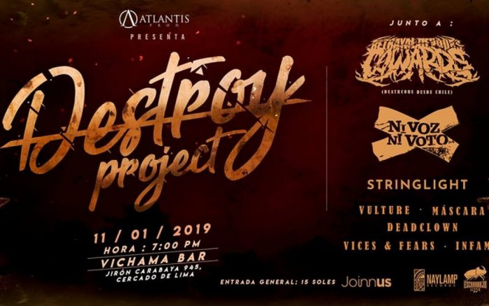 DESTROY PROJECT 2019