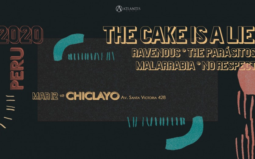 The Cake Is A Lie En Chiclayo