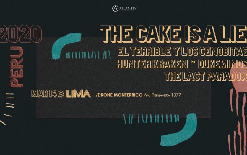 The Cake Is A Lie en Lima