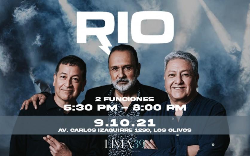 RIO, DOS ULTIMAS FUNCIONES  DEL AÑO EN LIMA NORTE