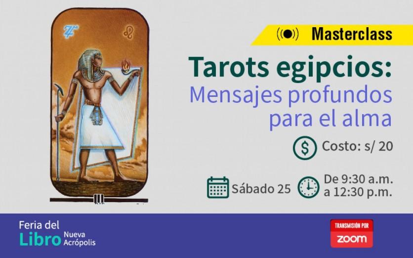 SEMINARIO: TAROTS EGIPCIOS: MENSAJES PROFUNDOS PARA EL ALMA
