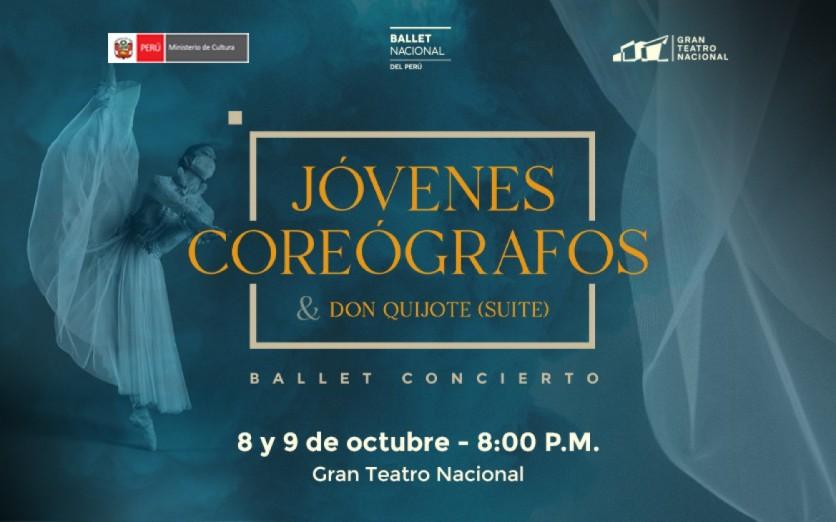 Ballet Nacional del Perú: Jóvenes Coreógrafos & Don Quijote