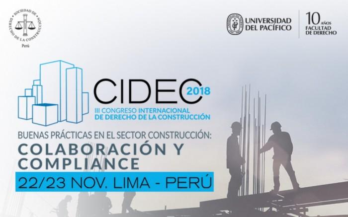 III CONGRESO INTERNACIONAL DE DERECHO DE LA CONSTRUCCIÓN