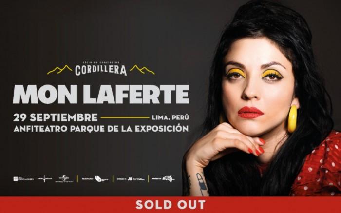 Ciclo Cordillera presenta: Mon Laferte en Lima (AGOTADO) /  / Joinnus