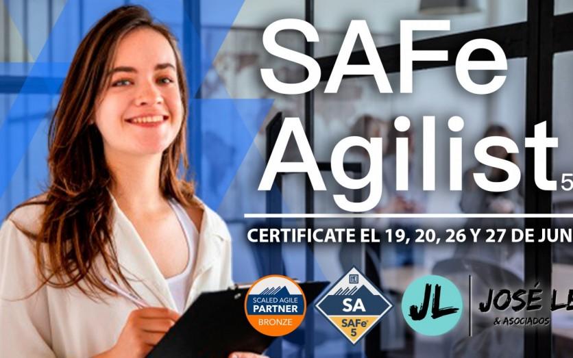 Curso Online de Certificación en SAFe Agilist - Junio