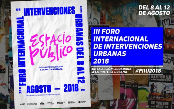 III Foro Internacional de Intervenciones Urbanas /  / Joinnus